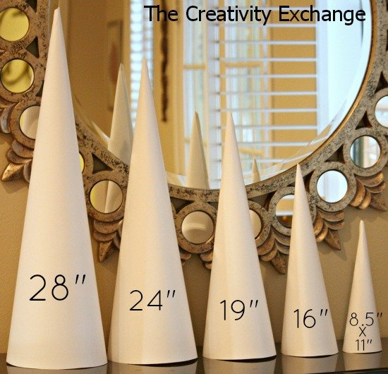 Templates and Tutorial for making craft cones {PDF immediate download for $9.95} The Creativity Exchange