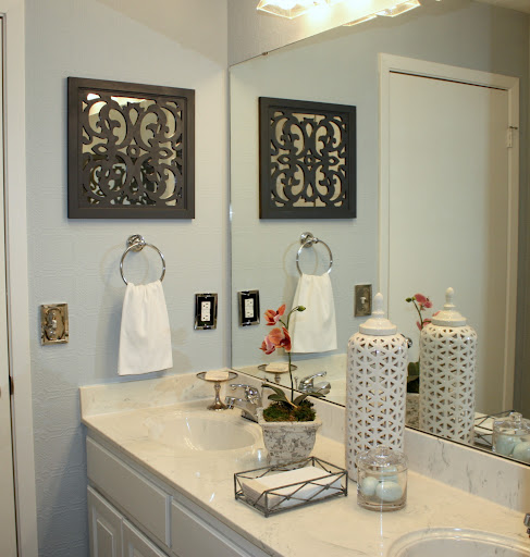 Diy Bathroom Lighting Ideas With Original Images: Guest Bath Revamp