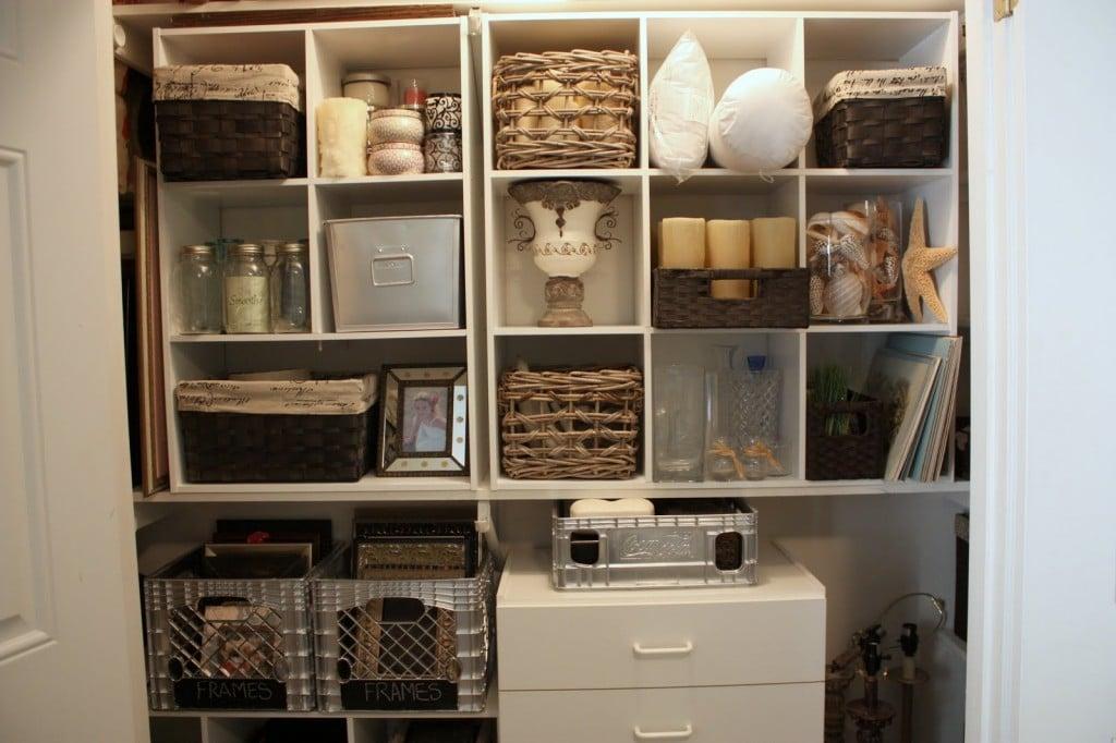 Closet Made Cube Storage, Junk Closet, Craft Closet