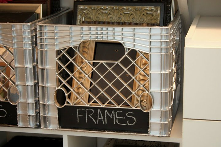 How To Spray Paint Plastic Plastic Crate Revamp
