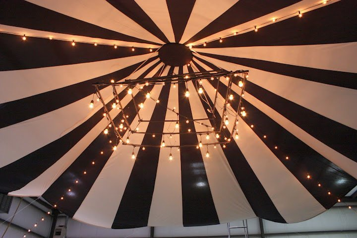 Ceiling tent, party tent, handmade tent