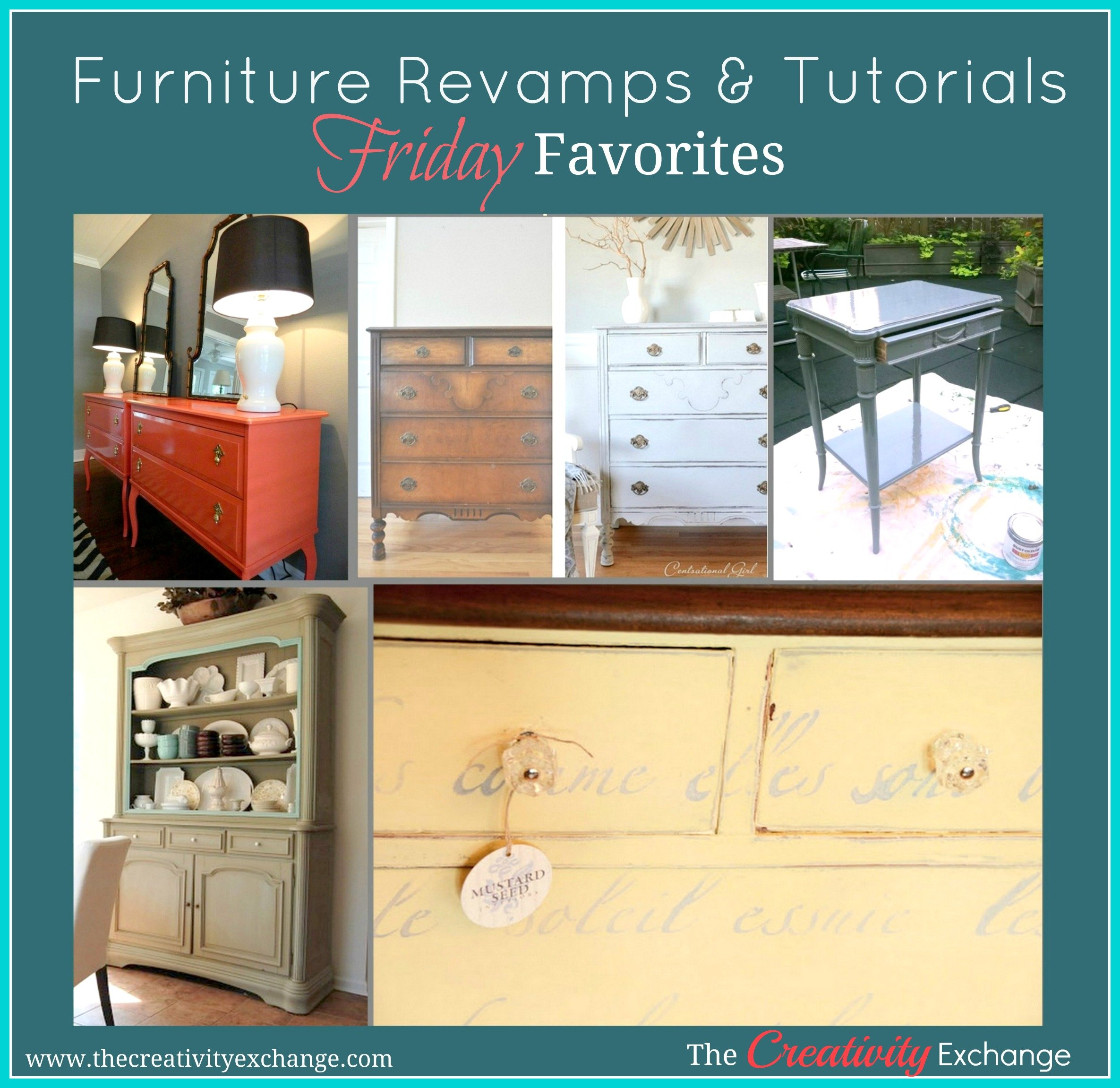 Friday favorites furniture treatments revamps for Furniture exchange