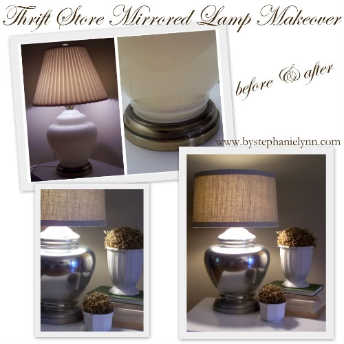 Mirror lamp tutorial