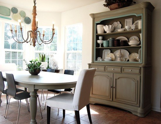 Gray Hutch, The Nester, painting furniture