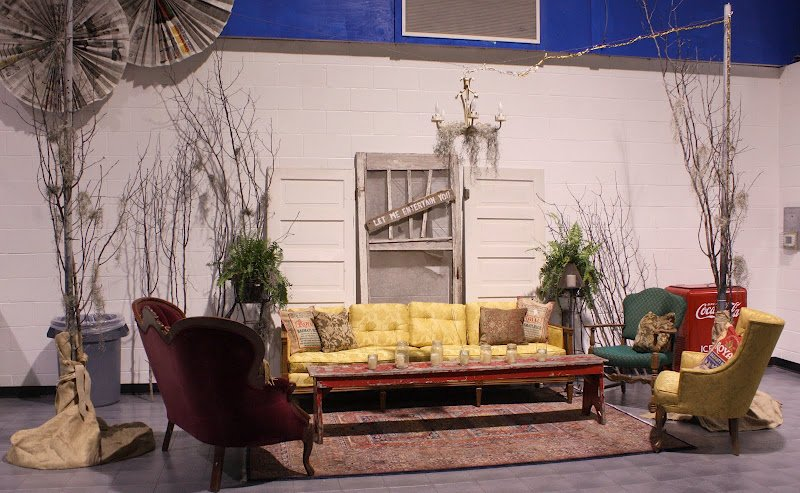 Vintage Seating Area