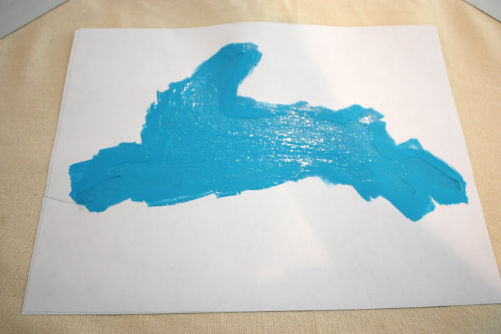 Screen Print Painting