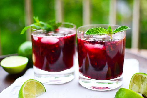 Blackberry Mojitos- Mojitos- Summer Drinks