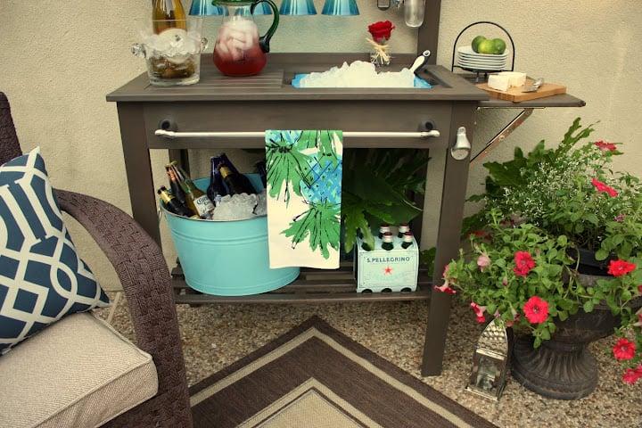 Potting Bench, Outdoor Bar, Garden Bench