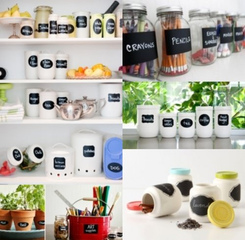 Chalkboard Labels, Free Printables