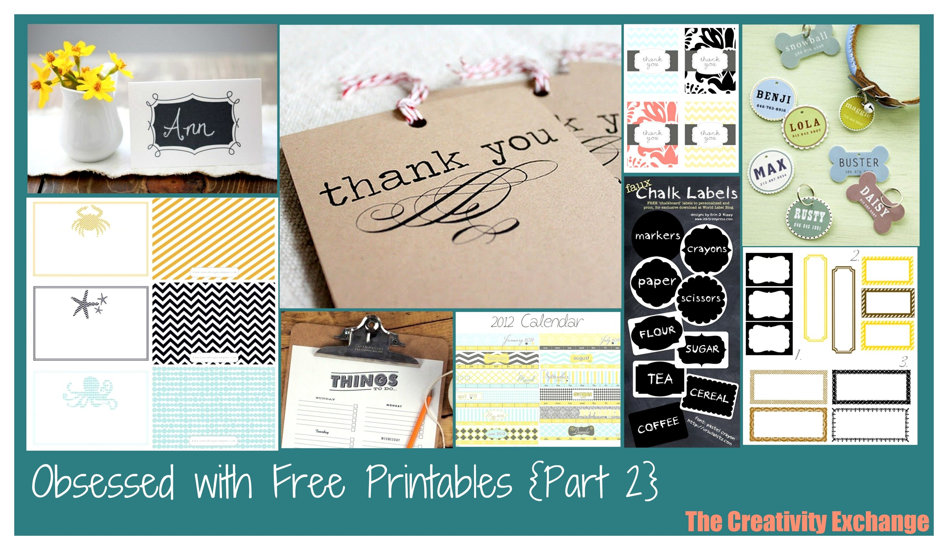 free printables printables collection of free printables