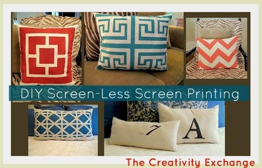 screen paint- screen-less screen printing