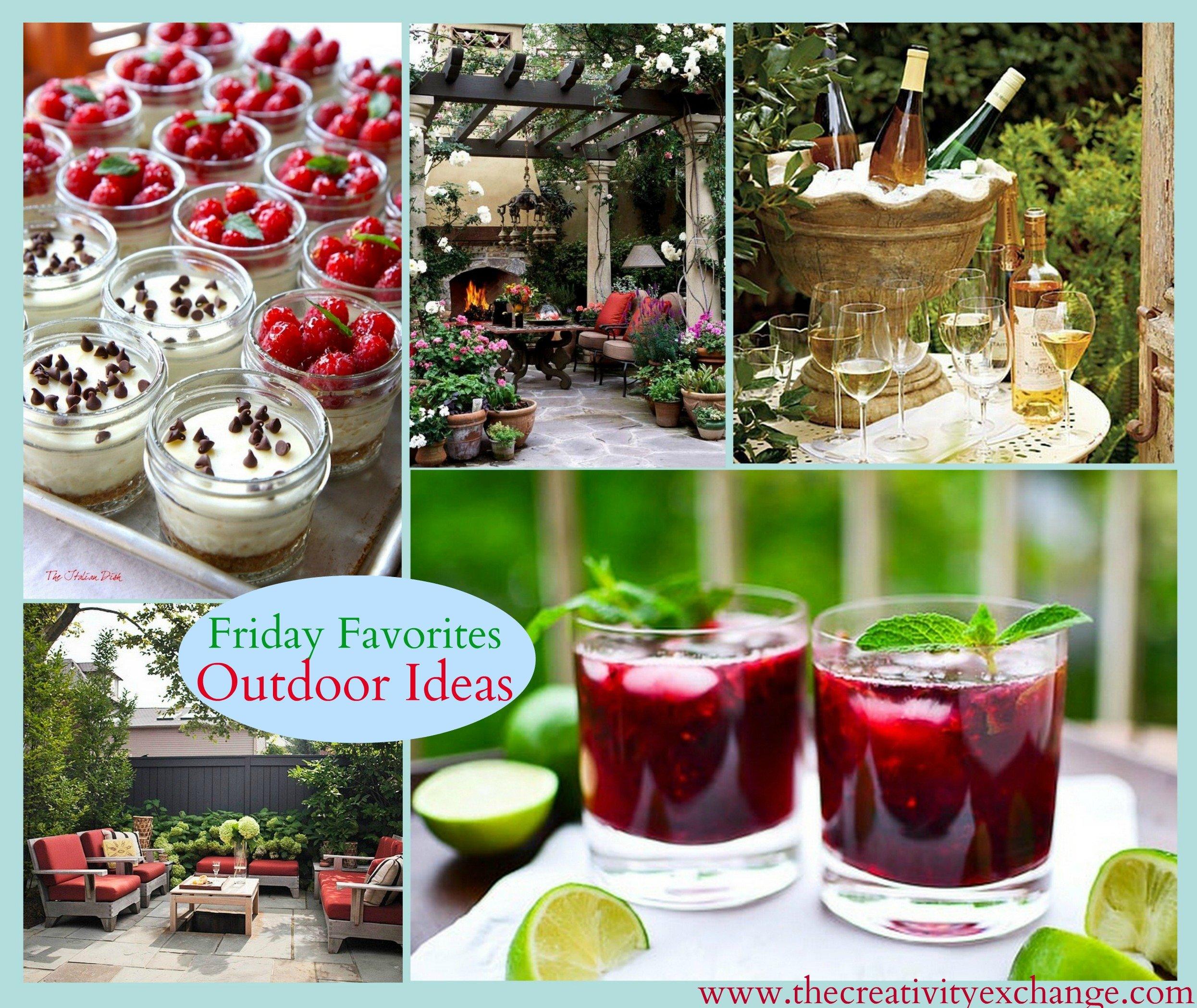 Summer Outdoor Ideas