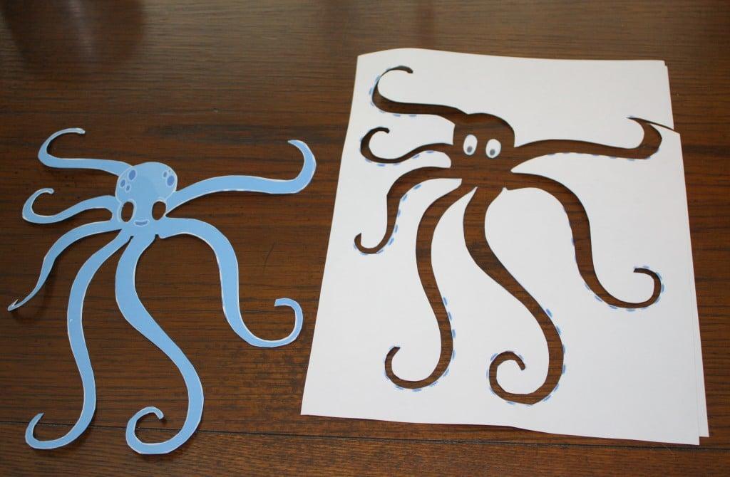 Octopus Stencil