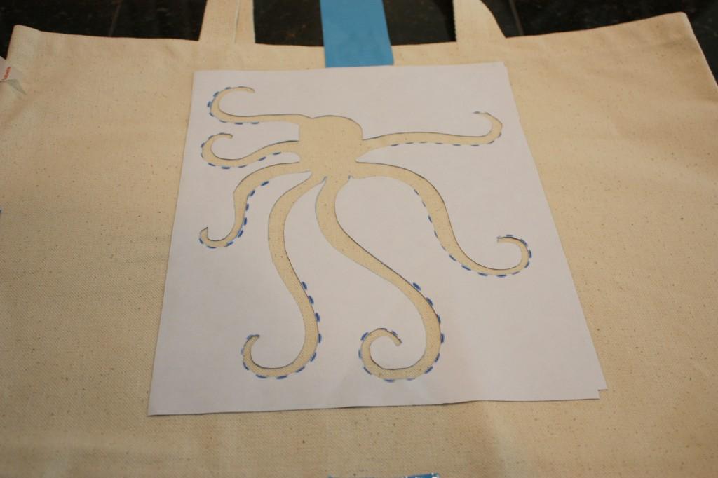 Octopus Stenci