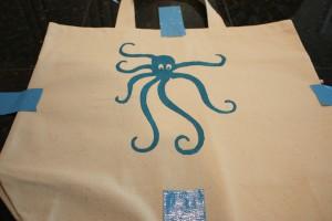 Octopus- Screen Print- DIY