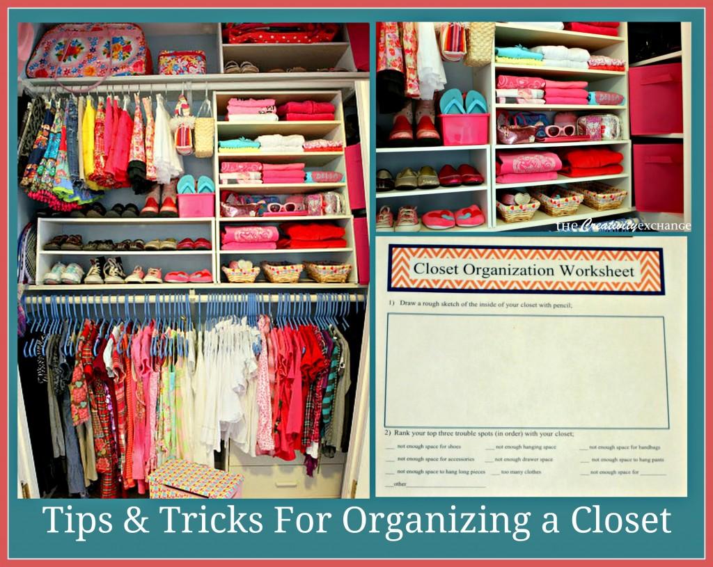 Closet Organization- How to Organize a Closet- Closets