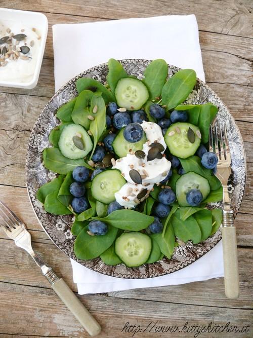 Blueberry Salad-Salad