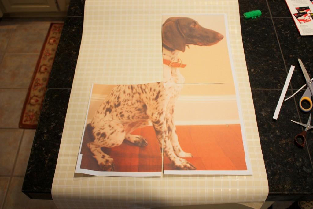 Dog Silhouette Art