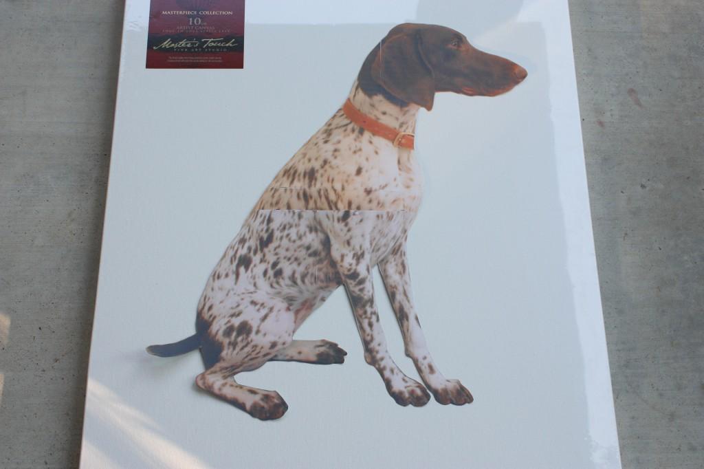 Dog Silhouette- Doug Silhouette Art