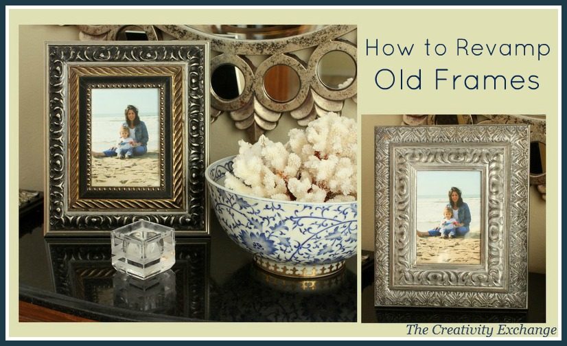 How to Revamp Old Frames {Trash to Treasure}