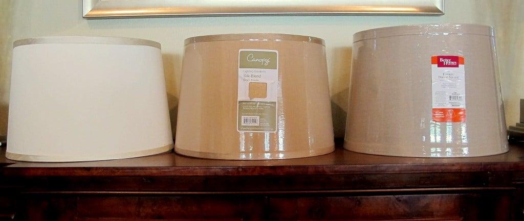 Barrel Lampshades