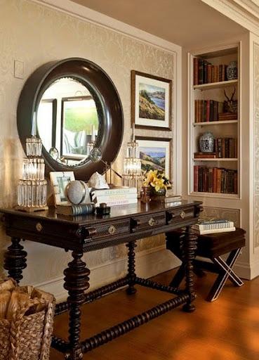 Decorating Tips- Decorating Tricks- Mirror- Entry Way