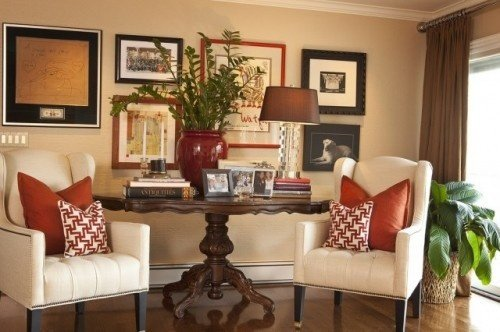Decorating Tricks- Decorating Tips- Gallery Wall