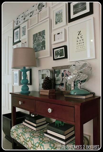 Decorating Tips- Decorating Tricks- Gallery Wall