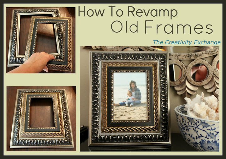 how to revamp old frames trash to treasure