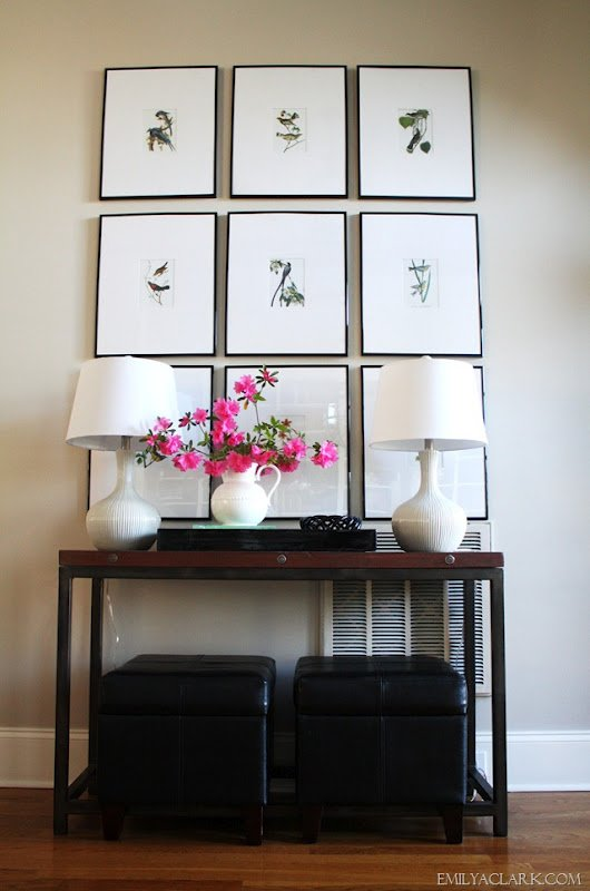Decorating Tips & Tricks- Gallery Wall