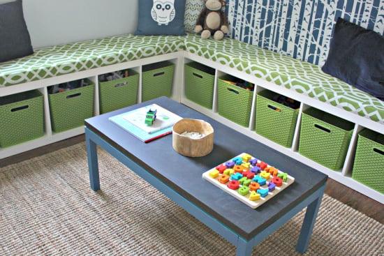 Organization Ideas- Playroom Organization