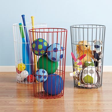 Wire Baskets- Organization- Ideas