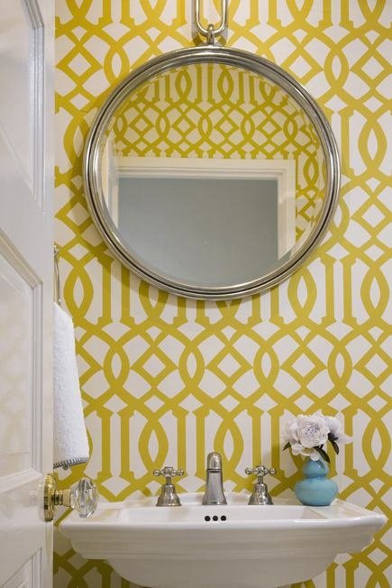 Imperial Trellis Yellow- Kelly Wearstler- Wallpaper