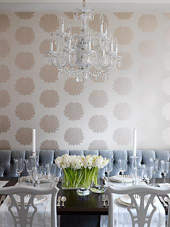 Metallic Wallpaper- Decor Pad- Wallpaper Trends