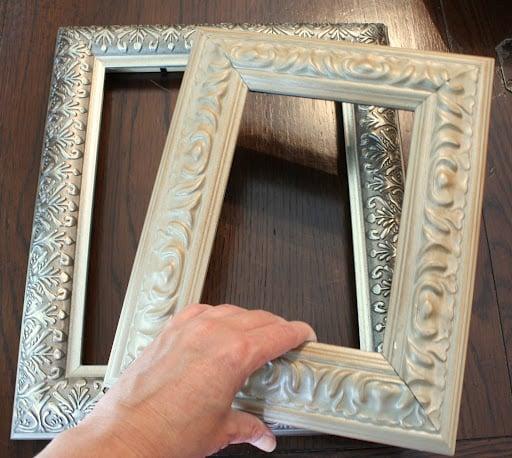 Frames- Old Frames- Revamp Project- How to Revamp Old Frames