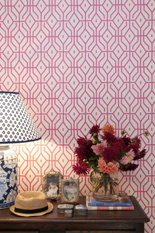 Wallpaper Trends- Anna Spiro- Pink- Wallpaper