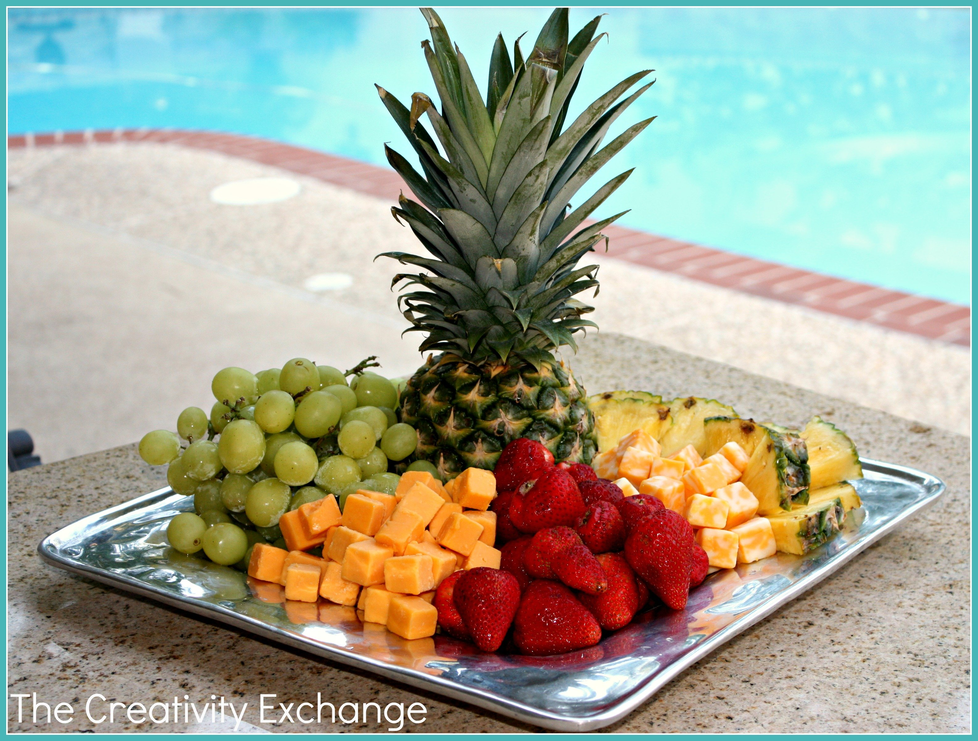 Easy Cheese and Fruit Tray