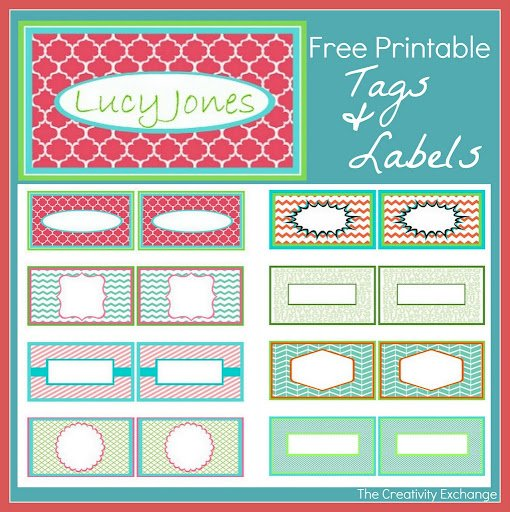Free Printable Calling Cards,Tags and Labels…