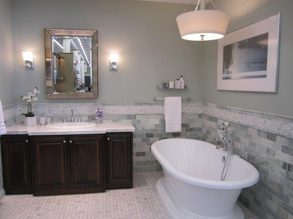 Decor Pad  Contented  Bathroom  Sherwin Williams Contented