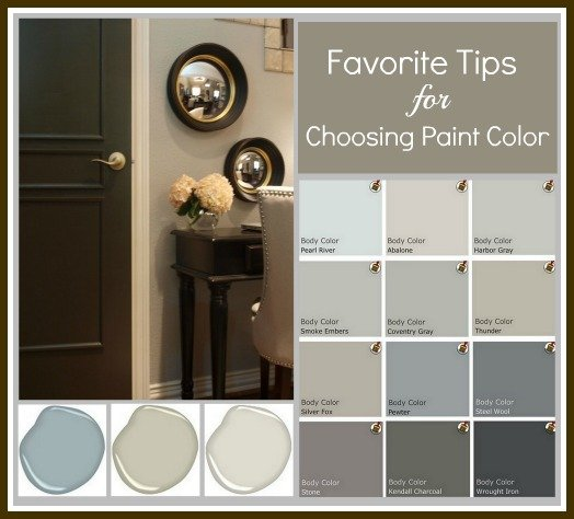 How To Choose A Paint Color favorite tips & tricks for choosing a paint color