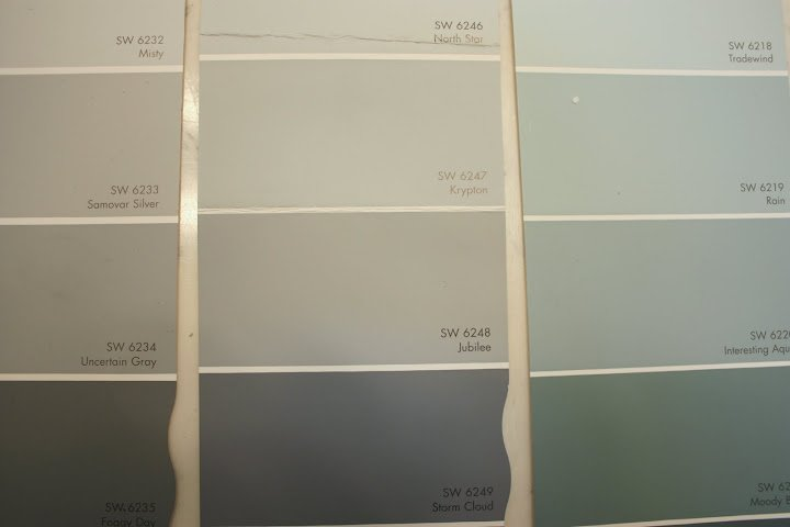 Gallery For gt Benjamin Moore Abalone Vs Revere Pewter