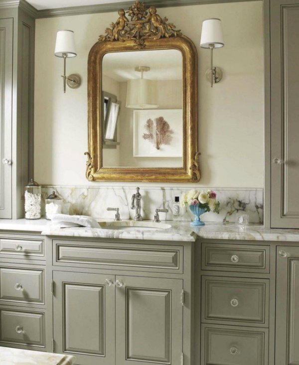 House Beautiful- Rockport Gray- Cabinet Paint Color- Choosing a Paint Color