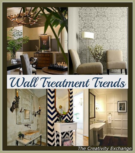 Favorite Wall Treatment Trends {Friday Favorites}..