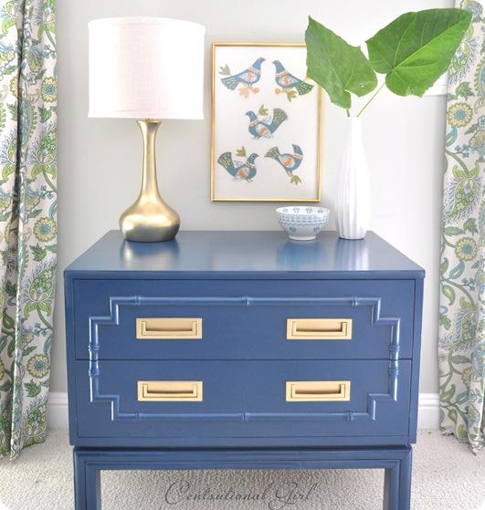 Spray Paint Furniture- Centational Girl