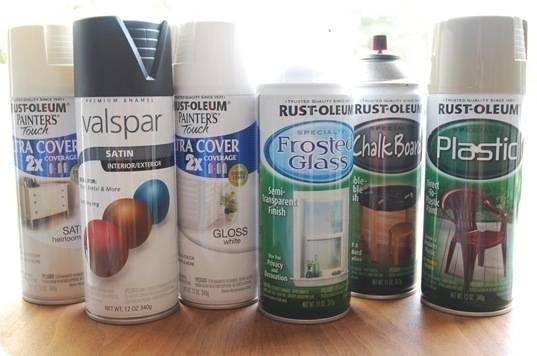 Spray Painting Tips- Centsational Girl