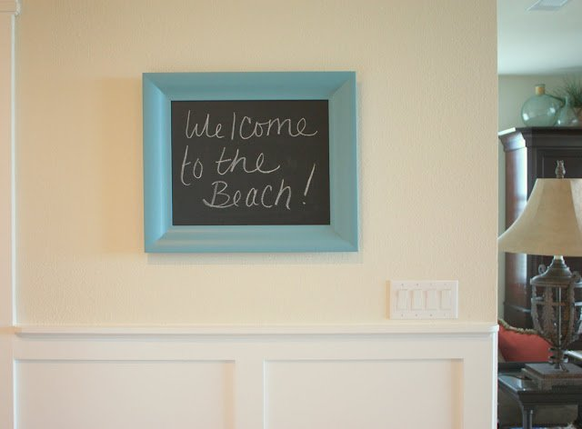 How to Make a Chalkboard- Chalkboard