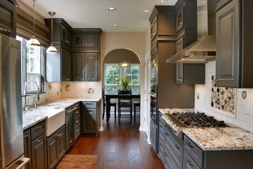Behr Granite- Kitchen- Dark Cabinet Color