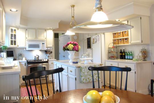 Kitchen Makeover- White Kitchen