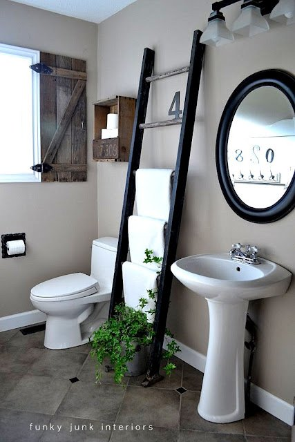 Bathroom- Funky Junk Interiors