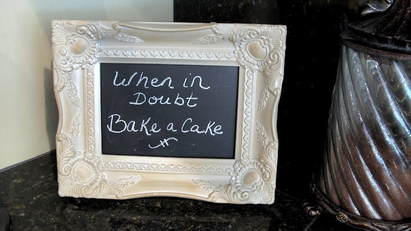Counter Chalkboard- DIY- How to Make a Chalkboard